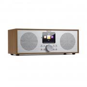 Auna Silver Star Stereo, интернет DAB+/FM радио, WiFi, BT, DAB+/FM, дъб (KC6-SilverStar ST WD)