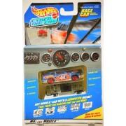 1997 Mattel Hot Wheels / Cyber Racers Pontiac Grand Prix Race Car Mattel Wheels #44 Car W/ Game Computer Inside Graphics & Sound Very Rare Mib Out Of Production Limited Edition Collectible