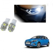 Auto Addict Car T10 5 SMD Headlight LED Bulb for Headlights Parking Light Number Plate Light Indicator Light For Hyundai Elite i20