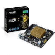 ASUS J1800I-C/CSM moederbord Gb-LAN, Sound, Mini-ITX