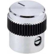 Buton metalic de inalta calitate Mentor, Ø ax 6 mm, tip 5615.6614