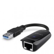 LINKSYS ADATTATORE DA USB 3.0 A GIGABIT ETHERNET NERO