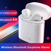 Black cat I7s Tws Wireless Earphone In-ear Bluetooth Earphones Earbuds Headset With Mic Iphone Smart Phone