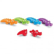 Learning Resources Alphabet Snap-n-Learn Alligators
