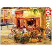 Educa Children's 2000 Corner Caf Haixia Liu Puzzle (Piece)