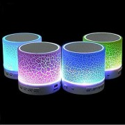 S10 Mini Wireless Portable Plastic Bluetooth Speakers with TF Card Hi-fi MP3 Music Player Subwoofer Home Audio