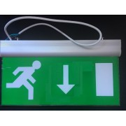 Vészvilágító LED lámpatest (LE pikto) 3 óra