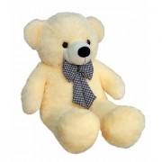 Priya Toys Beige 6 Feet Huggable Teddy Bear with Neck Bow Beige Big very soft and sweet anniversary for pleasant Gift hug able teddy bear