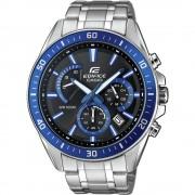 Kronografski Ručni sat EFR-552D-1A2VUEF (D x Š x V) 53 x 47 x 12.3 mm Srebrno-plava Materijal kućišta=Nehrđajući čelik Materijal