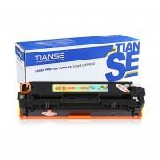 TIANSE Rojo CB543A Cartucho De Tóner HP Color Laserjet Fácil Agregar Polvo (no OEM)