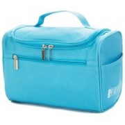 Expeditious Multifunction Zipper Toiletry Bags Travel Organizer Wash Storage Bags Makeup Bags Cosmetic Case – Blue Color Multipurpose Bag(Blue, 8 L)