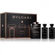 Bvlgari Man In Black coffret III. Eau de Parfum 60 ml + bálsamo after shave 40 ml + champô para todo o corpo 40 ml