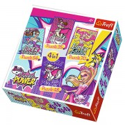 Trefl Puzzle Slagalica 4u1 Barbie and Her Super Frinds (34251)