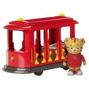 Daniel Tigers Neighborhood Trolley with Daniel Tiger Figure