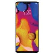 "Telefon Mobil LG V40 ThinQ, Procesor Octa-Core 2.7GHz / 1.7GHz, P-OLED capacitive touchscreen 6.4"", 6GB RAM, 128GB Flash, Camera Tripla 12+12+16MP, 4G, Wi-Fi, Dual SIM, Android (Albastru) + Cartela SIM Orange PrePay, 6 euro credit, 6 GB internet 4G, 2,000"