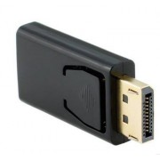 Meco Display Port DisplayPort DP HD Multimedia Interface Male to Female Adapter Video Audio Connector