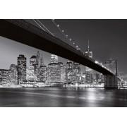 W + G Fotobehang Brooklyn Bridge New York (366 x 254 cm)
