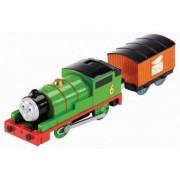 Percy Trenulet Locomotiva Motorizata cu Vagon Thomas and Friends Track Master