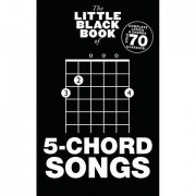 Music Sales The Little Black Book of 5-Chord Songs Songbook