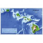 Harta Hawaii National Geographic