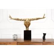 Soška Gymnast 75cm zlatá