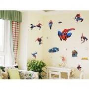 TipTop Wall Sticker Cool Spider-man Pattern