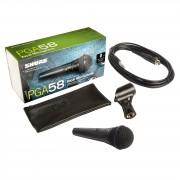 Shure PGA58-QTR Micrófono, 4,5m cable jack