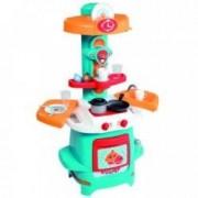 Smoby Gyermek játék konyha - kék