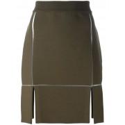 Courrèges юбка прямого кроя Courrèges