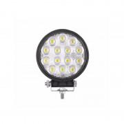 Proiector LED auto 42W rotund