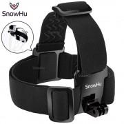 SnowHu for Head strap mount For Gopro Hero 6 5 4 3+ Xiaomi yi 4K Action Camera For Eken H9 SJCAM SJ4000 Go Pro Accessories GP23