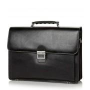 Castelijn & Beerens Handtas Realtà Laptop Bag 15.4 inch Zwart