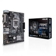 MB ASUS PRIME H310M-D, Intel H310, DDR4, VGA, HDMI, LPT, COM, LGA 1151