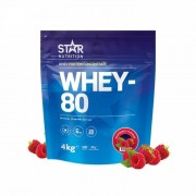 Star Nutrition Whey-80, 4 kg (Banan)