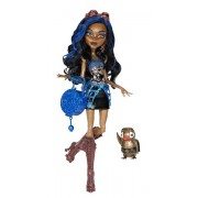 Monster High Robecca steam - schools out with pet - monster high docka -