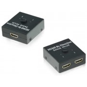 4k HDMI Switch / Splitter Combo 2 Ports Bi-directional 2x1 or 1x2