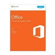 MS Office 365 Home & Student 2016 32/64-bit, Английски, електронен лиценз, 1г. абонамент (само ключ за активация), 79G-04597