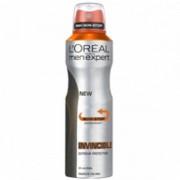 L'Oreal Paris Déodorant en spray Invincible 96 heures de L'Oréal Men Expert (250ml)