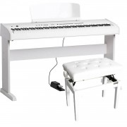 ORLA SP230/WH Stage Studio digitale piano wit + onderstel wit + pianobank wit