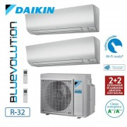 Daikin Climatizzatore/Condizionatore Daikin Multisplit Parete 2MXM50M+FTXM25N+FTXM25N