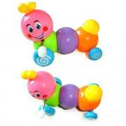 Wonderland Toys Wind up Caterpillar Toy for Kids (Random Color)