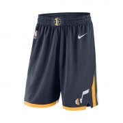 Utah Jazz Nike Icon Edition Swingman NBA-Shorts für Herren - Blau