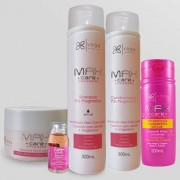 Kit Completo Pós Progressiva Max Care Power Progress Voga Cosméticos (5 produtos)