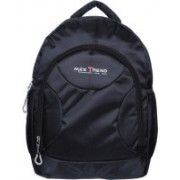Mee Trend High Quality Tough Polyster Casual School/college/Laptop/Travel 34 L Backpack(Black)