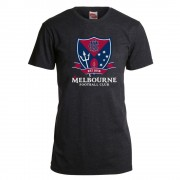 AFL Youth Printed Logo Tee Melbourne Demons [Size:12]