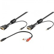 Cablu SVGA, 15tata-15tata+audio 2 m