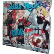Bratz Girlz Really Rock 10 Inch Doll Cloe The Rock Star With 2 Rockin Outfits Plus Stylin Pop Guitar And Drum Set