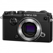 Olympus PEN-F Body Aparat Foto Mirrorless 20MP MFT Full HD Negru