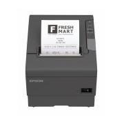 Epson TM-T88V, Impresora de Tickets, Térmico, Serial + USB, Negro - incluye Fuente de Poder, sin Cables