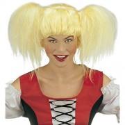 Widmann Heidi In Polybag Wig for Hair Accessory Fancy Dress